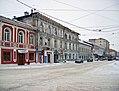 Nizhny Novgorod. At winter crossing of Alexeyevskaya & Oktyabrskaya Street.jpg