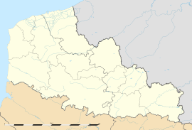 Audembert is located in Nord-Pas-de-Calais