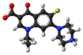 Norfloxacin zwitterion ball.png