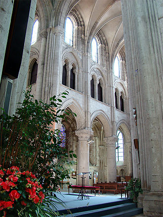 Lisieux Cathedral - Liseux Cathedral interior