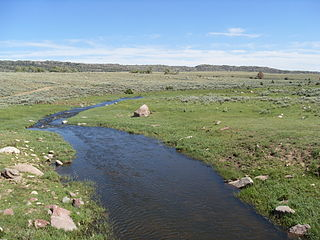 North Laramie River river in the United States of America