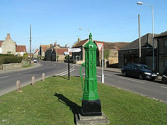 Stalbridge - Image: North Pump, Stalbridge geograph.org.uk 371387