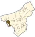 Northampton county - Allen Township.png