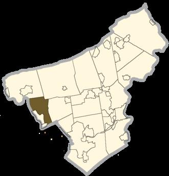 Allen Township, Northampton County, Pennsylvania - Image: Northampton county Allen Township