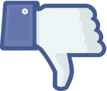 disadvantages of facebook wikipedia