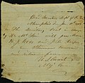Note signed U.S. Grant, Memphis, Tenn., (to W.A. Arnold), January 10, 1864.jpg