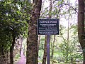 Notice sign, Coppice Pond - geograph.org.uk - 471281.jpg