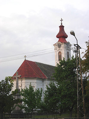 Potisje - Image: Novi Bečej Orthodox church