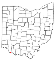 Location of Chilo, Ohio