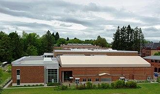 Dixon Recreation Center - The center's exterior in 2008