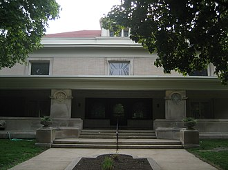 "Pleasant Home - The John Farson House(front view) known as ""Pleasant Home"""