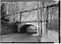 Old Croton Aqueduct, Sing Sing Kill Bridge, Spanning Aqueduct Street and Broadway, Ossining, Westchester County, NY HAER NY,60-OSS,2A-18.tif