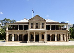 Old Government House, Queensland - Front facade view