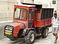 Old Jerusalem Suq Ed-Dabbagha mini tractor GOLDONI.jpg