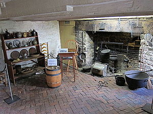 Old Stone House (Washington, D.C.) - First floor kitchen