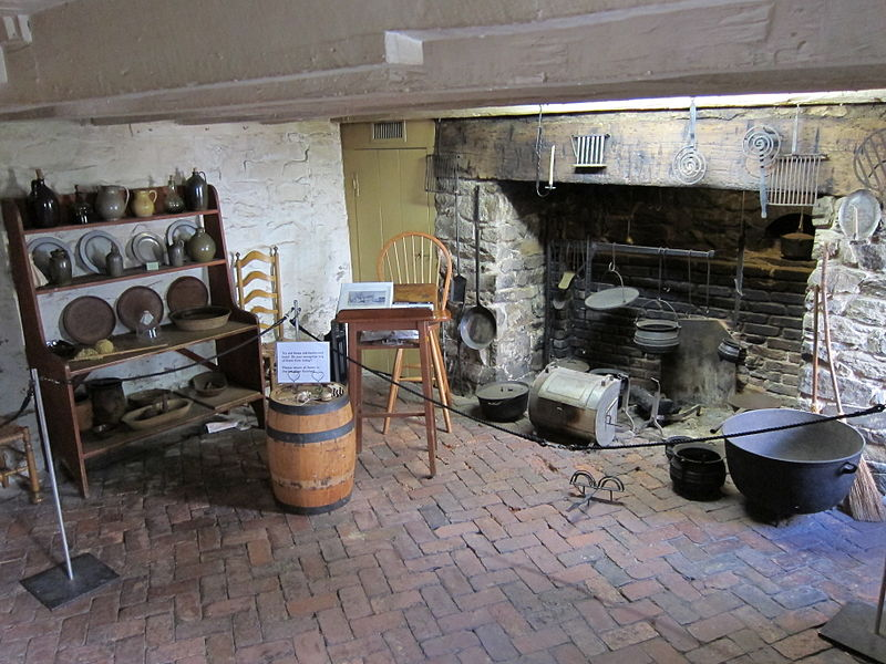 Old Stone House (Washington, D.C.) First Floor Rear Kitchen.jpg
