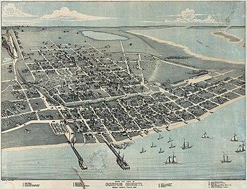 Old map-Corpus Christi-1887