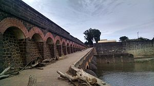 Arthur Cotton - Oldest Dowlaiswaram Dam constructed by Sir Arthur Cotton on Godavari river to control floods.
