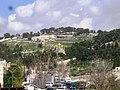 Olive Mount and Gethsemane Church, Jerusalem הר הזיתים וכנסית גת שמנא - panoramio.jpg