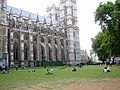 On the lawn near Westminster Abbey - На лужайке около Вестминстерского аббатства. - panoramio.jpg