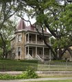 """One of 11 grand Victorian homes erected in the """"Bremond Block"""" in downtown Austin, Texas, from the mid-1850s to 1910 LCCN2014632501.tif"""