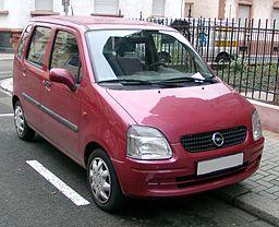 Opel Agila front 20071204