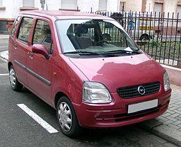 Schema Elettrico Opel Agila : Opel agila wikipedia
