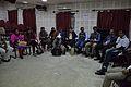 Open Discussion - Collaboration among Bengali Language Wikipedians of Bangladesh and West Bengal - Bengali Wikipedia 10th Anniversary Celebration - Jadavpur University - Kolkata 2015-01-09 2966.JPG