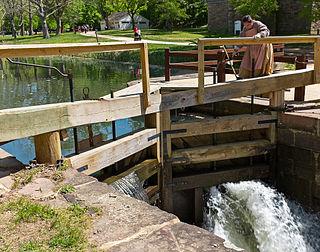 Locks on the Chesapeake and Ohio Canal