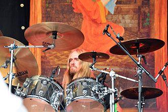 Martin Axenrot - Image: Opeth – Elbriot 2015 03