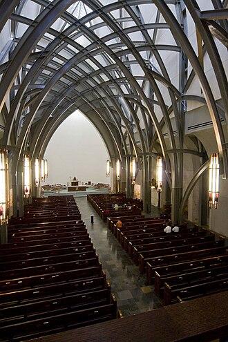 Ave Maria University - Image: Oratory interior at ave