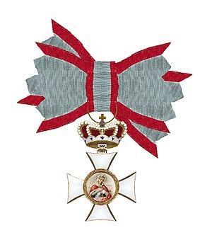 Order of Saint Elizabeth - Image: Orde van de Heilige Elisaberh Beieren aan strik