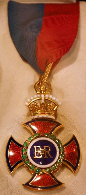 Order of Merit - Reverse of the badge