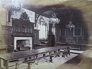 Gregory Cromwell, 1st Baron Cromwell - The original medieval dining hall of Pembroke College, Cambridge