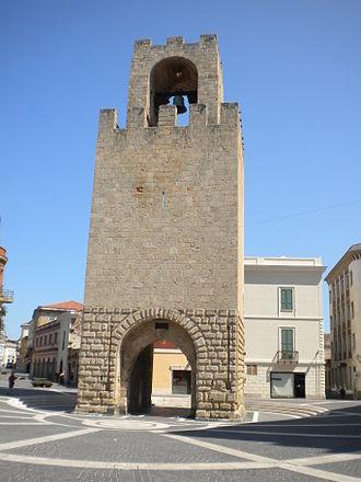 Judicate of Arborea - Oristano, Mariano II's tower
