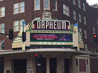 Orpheum Theatre (Wichita, Kansas) United States historic place