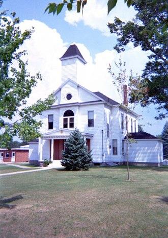 Oscoda County, Michigan - Image: Oscoda County Courthouse