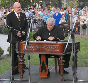 Classification of percussion instruments - Cimbalom