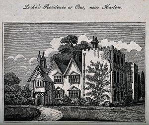 Damaris Cudworth Masham - Oates Manor at High Laver.