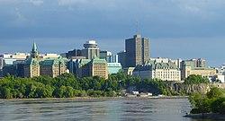 Downtown Ottawa in 2019