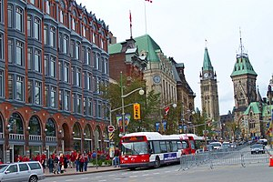 Ottawa Elgin Street at Queen