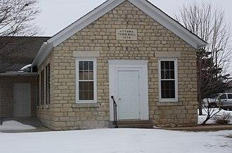 Ottawa, Wisconsin - Town hall