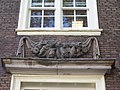 Oudezijds Achterburgwal 185 detail 2 of 4 from left to right.JPG