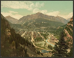 Ouray, Colorado - Ouray, Colorado in 1901