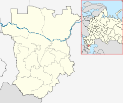 Grozny is located in Chechnya
