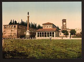San Lorenzo tra il 1890 e il 1900
