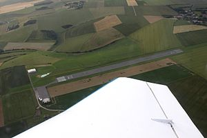 Saint-Inglevert Airfield - Aerial view of Saint-Inglevert Airfield.