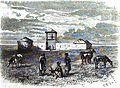 P.B. Poste de Cosaqnes prés Kalinovsk. Floriant Gille. Lettres sur le Caucase et la Crimée. 1859. P.39.jpg