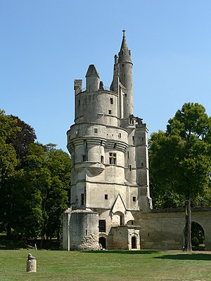 Aisne - The keep of the castle of Septmonts