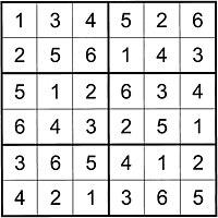 Grilles de sudoku facile